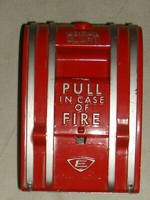 Edwards 270 Local Fire Alarm Pull Station No Original Breakglass Vintage