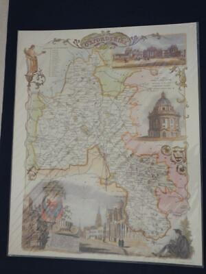 Reproduction Antique Map of Oxfordshire 16 x 20 inches.