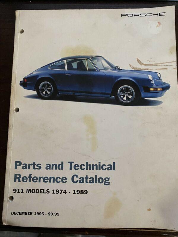 911 Porsche Parts & Technical Reference Catalog Models 1974 - 1989 December 1995