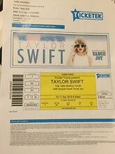 Taylor Swift Concert Ticket A reserved Seating Carlton Melbourne City Preview
