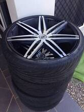 Lexani Johnson II 22 inch Chrome rims for sale Eight Mile Plains Brisbane South West Preview