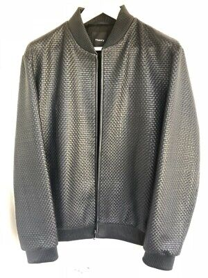 Theory Leather Jacket NWT Medium-M and Large-L Brand New