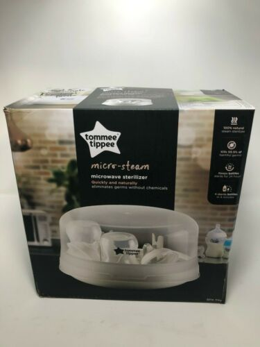 Tommee Tippee Microwave Steam Sterilizer for Baby Bottles