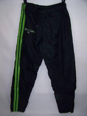 Cat Track Pant (Arctic Cat Lined Track Pants Snowmobile Nylon Black Ankle Zipper size Men's M )