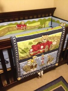 Quality baby boy crib bedding set