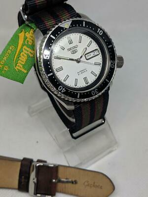 Seiko SKX NH36 Vintage Mod  Race Dial - Pressure Tested - Automatic Diver Watch