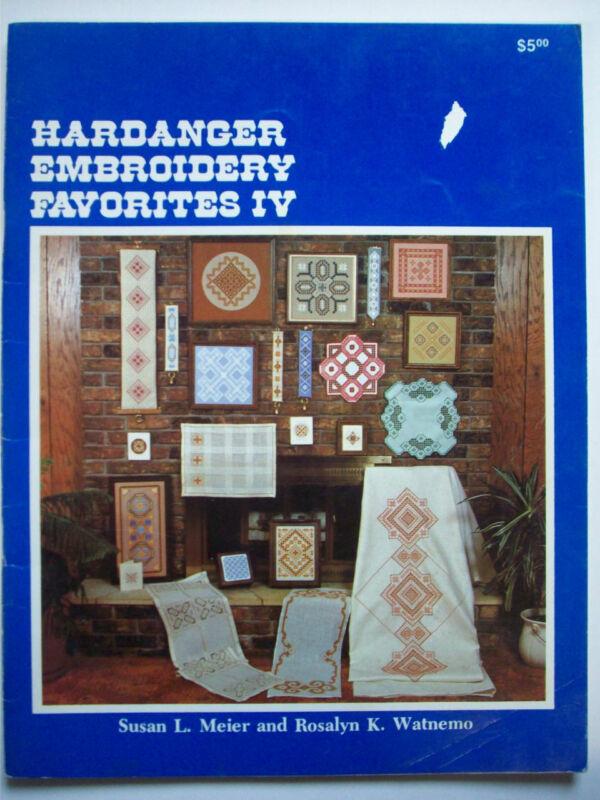 Hardanger Embroidery Favorites IV patterns