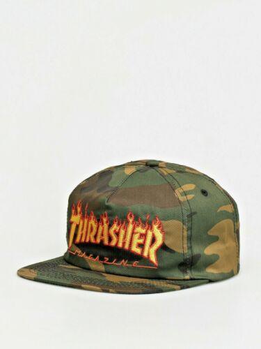 THRASHER FLAME SNAPBACK HAT