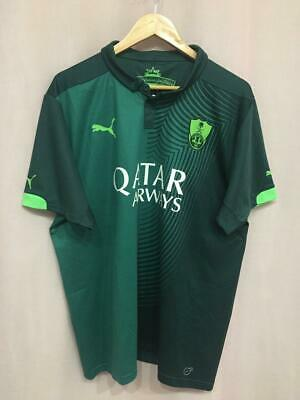 AL-AHLI SAUDI FC 2015/2016 AWAY FOOTBALL SHIRT JERSEY SIZE XL PUMA image