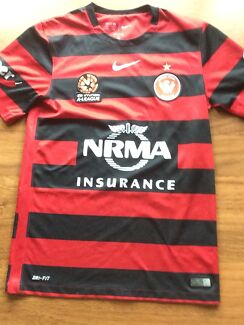 **SOLD** Wanderers Jersey Authentic S