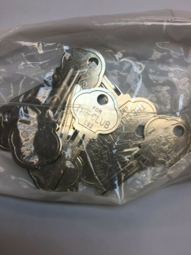JET THE CLUB Steering Lock Key Blank CB3-NP 1573C FREE SHIPPING 10 PCS