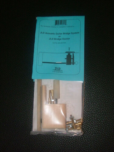 JLD Bridge Doctor System for Bowed/Bellied/Warped Guitar Top,Brass Pin Mount Kit