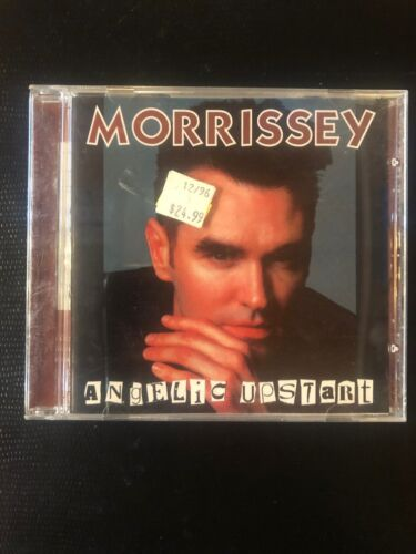 MORRISSEY ORIGINAL RARE CD ANGELIC UPSTART, THE SMITHS, 1980