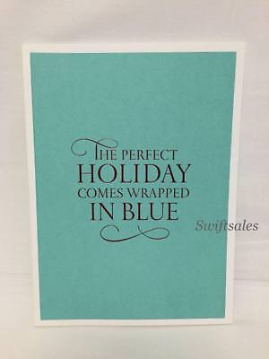 TIFFANY & Co Catalog Book - Perfect Holiday Comes Wrapped In Blue 2014 - - Co Catalog