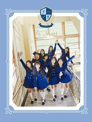 fromis_9 - To. Heart [Blue ver.] (Debut Album) CD+Letter+Postcard+Free Gift