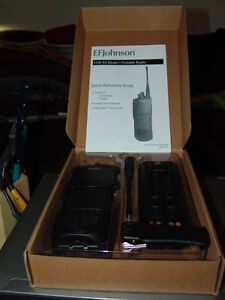 EF Johnson 5100 Model 1  UHF 380-470MHz P25 conventional  & Trunking also Analog