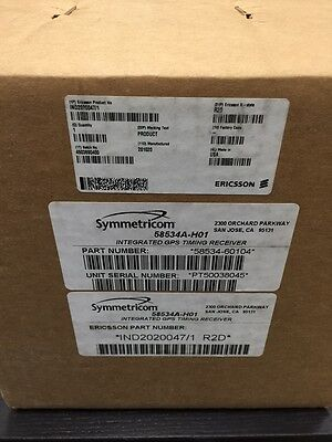 Hp Symmetricom 58534a-h01 Integrated Gps Timing Module Antenna Receiver New