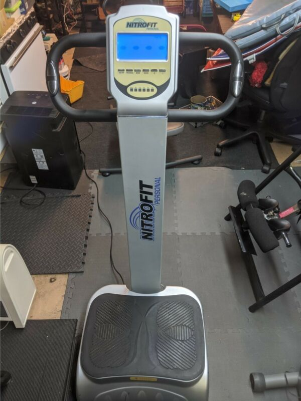 NitroFit Personal Whole Body Vibration In-Home Exercise Workout Machine