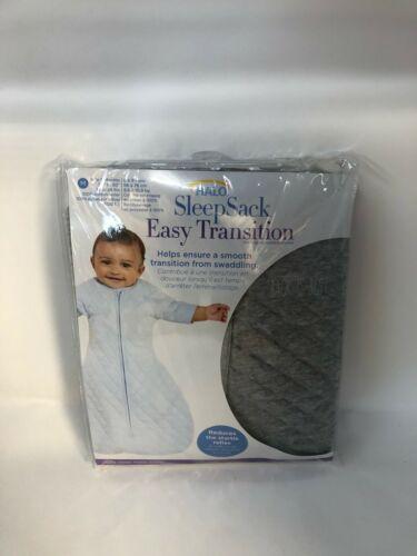 HALO Easy Transition Sleepsack Wearable Blanket, TOG 1.5, Heather Grey, Medium