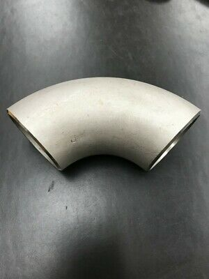 New 2 Inch 90 Degree Lr Elbow 304 Stainless Steel Sch 10 Butt Weld Nib