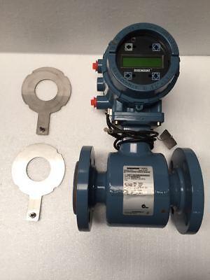 Rosemount 8705 Magnetic Flowmeter 2 Size With 8732 Transmitter 1