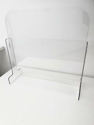 Hygienenschutz Aufsteller, Corona Schutz Visier, Maße 60cm x 60cm