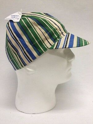 New Comeaux Welding Caps Hard Brim Stripe Welding Hats Assorted Colors and sizes