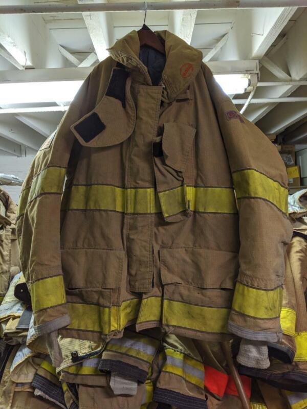 Globe Gxtreme Turnout Coat Firemans Bunker Coat 46/32 Monring Pride