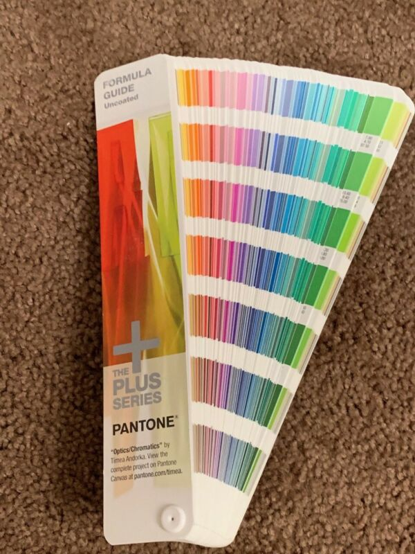 Pantone Uncoated Solid Color Guide