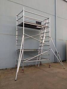 4.0m Aluminium Scaffold Alloy mobile tower Double Width Dandenong South Greater Dandenong Preview