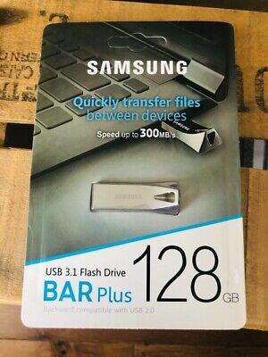 Cle Usb BAR Samsung 128 Go Memoire Flash 2.0 3.0 Key Neuf...