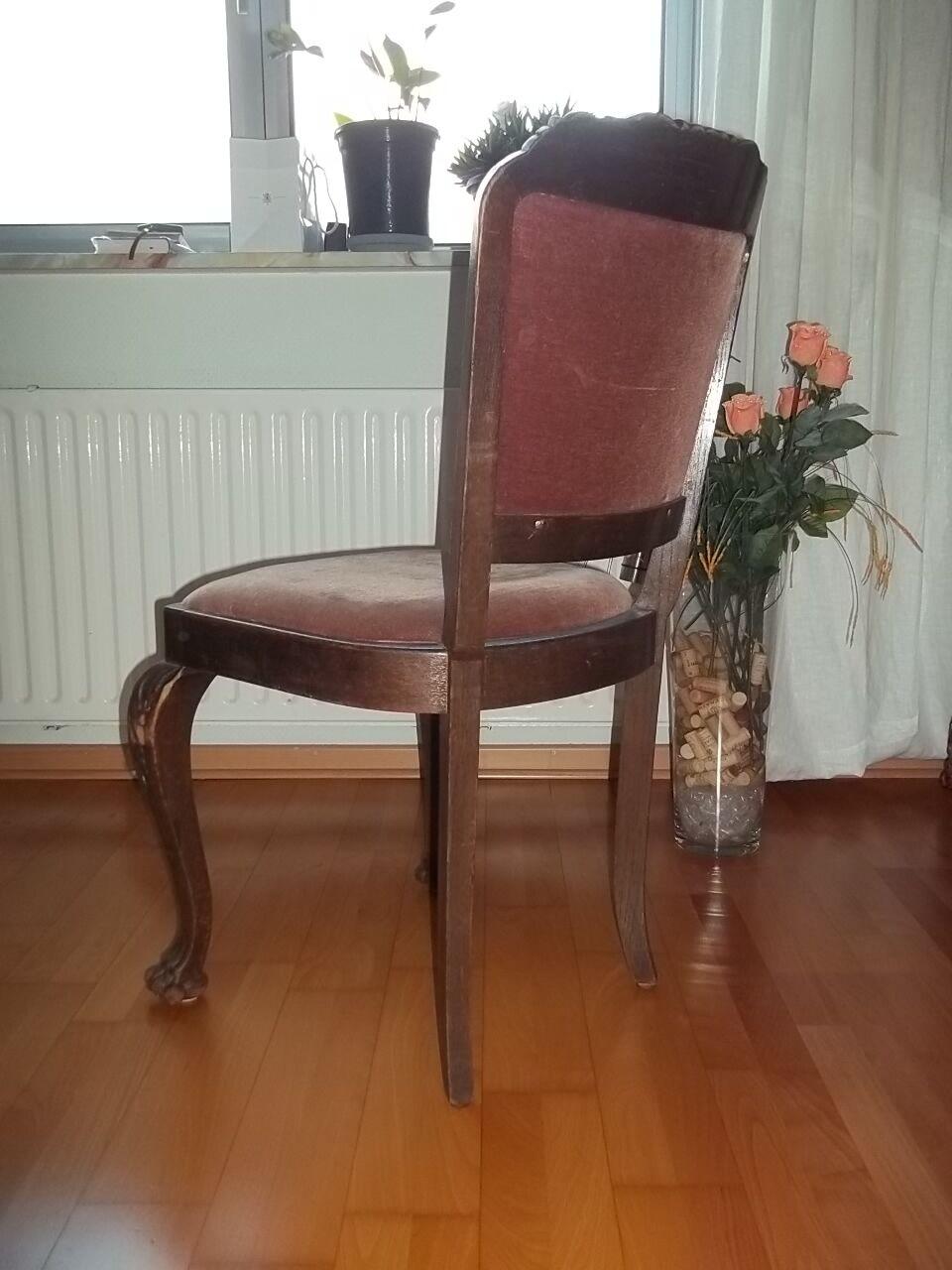 antiker stuhl jugendstil gr nderzeit sitz um 1870 alter stuhl unikat l wentatze eur 239 00. Black Bedroom Furniture Sets. Home Design Ideas