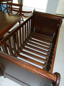 Plantation 3 way cot with innerspring mattress Buderim Maroochydore Area Preview