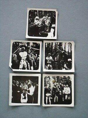 5x MENSUR FOTO KAISERZEIT FECHTKAMPF PAUKANT STUDENTIKA