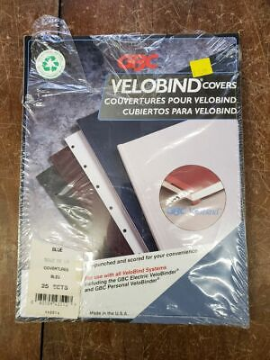 Gbc Velobind Covers