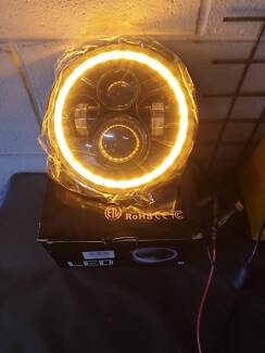 7'' Round High/Low Beam Led Headlight for Jeep Wrangler & another Bayswater Bayswater Area Preview