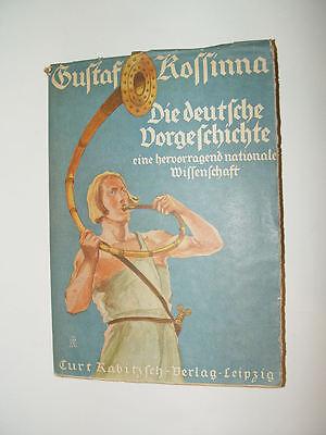 Die deutsche Vorgeschichte von Gustaf Kossinna aus dem Jahr 1941