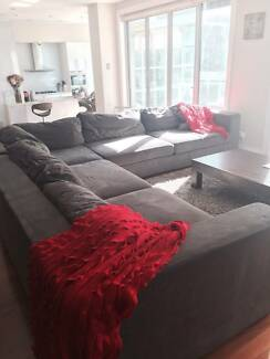 MASSIVE Grey Corner Sofa Kensington Eastern Suburbs Preview