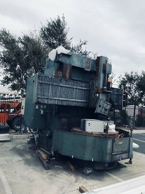 1956 King 56 Vertical Turret Lathe