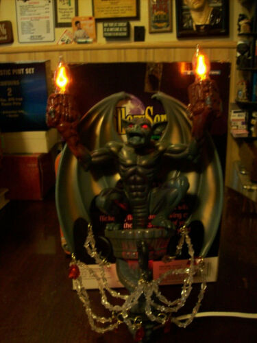 HallowScream Flickering Gargoyle Light Vintage 1996 Original Box