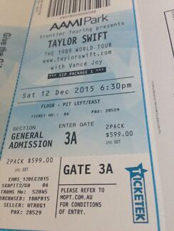 Taylor Swift Melbourne Saturday 12th December - VIP Package 1 Bayview Darwin City Preview