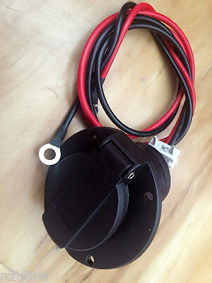Used, Star-car 48 Volt Charger Receptacle and Electric Golf Cart Parts Charging socket for sale  Shipping to South Africa