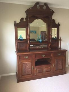 Antique 19th Century Tasmanian Wall Unit / Sideboard Fig Tree Pocket Brisbane North West Preview