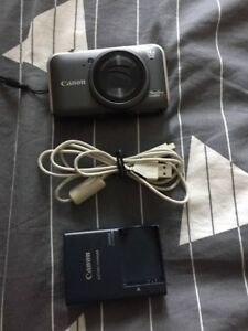 Canon PowerShot SX220 HS Digital Camera - Grey