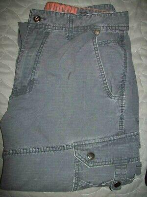 Harley-Davidson Dark Grey Cargo Pants 32x32