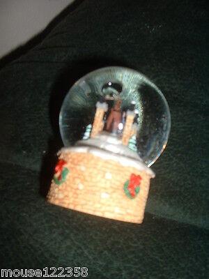 Hallmark Mini Snow Globe 2003 horse with sleigh Christmas tree