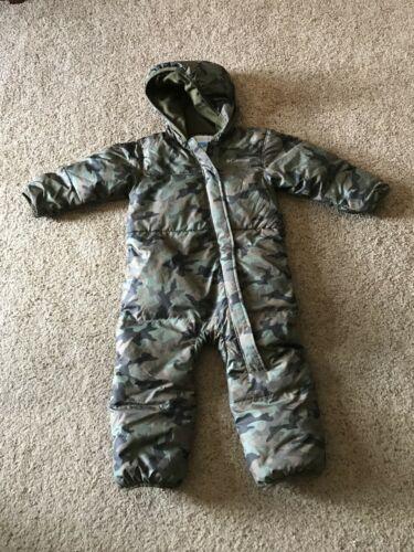 Kids Columbia Camo Snowsuit 18-24 Months