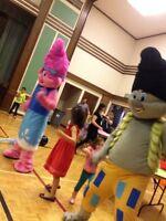 Mascots for Rent Trolls Paw Patrol Ninja Turtle