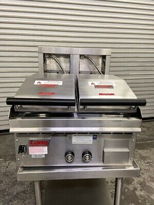 New 24 Gas Griddle Double Clamshell Contact Hoods Lang 224tche-npe 5085