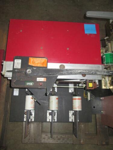 Qa-1233-et 1200a 480v Pringle Switch Black Base W/ 120 Volt Shunt Trip Used